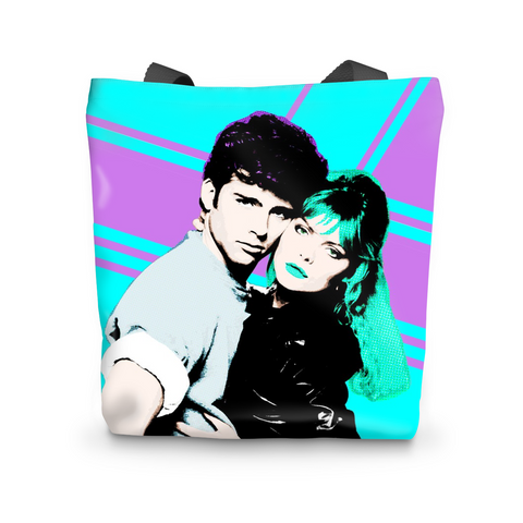 Score Tonight Neon Tote Bag