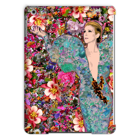 Celine Dion - Billboard Flowers Tablet Case