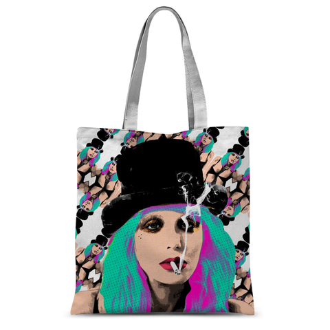 Courtney Love (White)- Bad Bitches Tote Bag