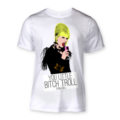 Patsy Ab Fab Bitch Troll T-Shirt