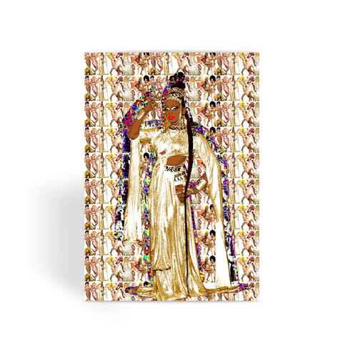 All Stars 3 - Kennedy Davenport Greeting Card