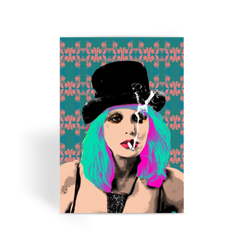 Courtney Love - Bad Bitches Greeting Card