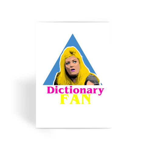 Gemma Collins - Dictionary Greeting Card