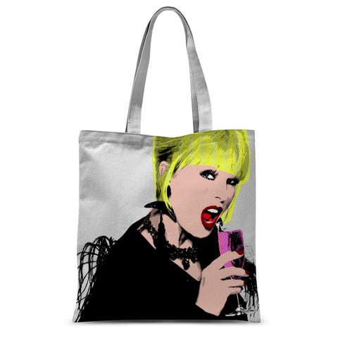 Patsy - Ab Fab - Bitch Troll Tote Bag