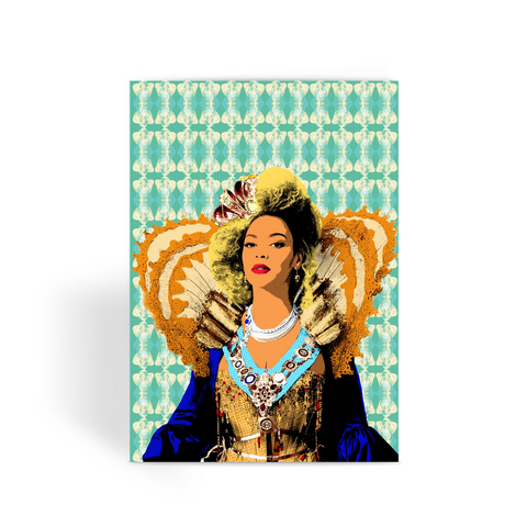 Beyoncé - Queen Bee Royal Greeting Card