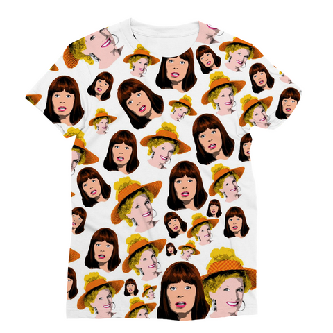 Kath and Kim - All OVAH Fashion Tee
