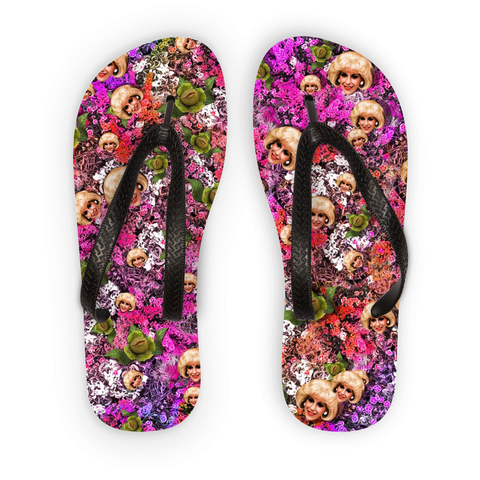 Audrey II - Little Shop of Horrors Flip Flops