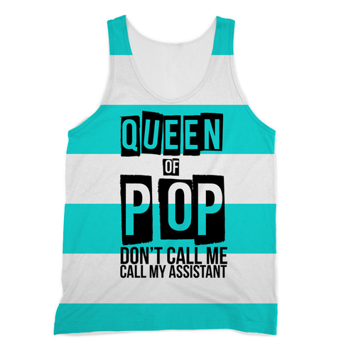 Madonna  - Queen of Pop Sublimation Vest