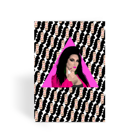 Michelle Visage Greeting Card
