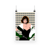 Clue - Miss Scarlet Art Print