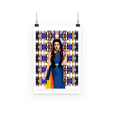 Drag Race All Stars - Adore Delano Art Print