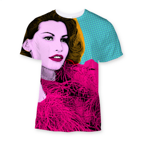 Showgirls Crystal Conners Fashion Tee