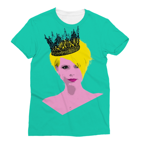 Victoria Beckham Pop Art Fashion Tee