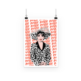 Joan Collins Bitch Art Print