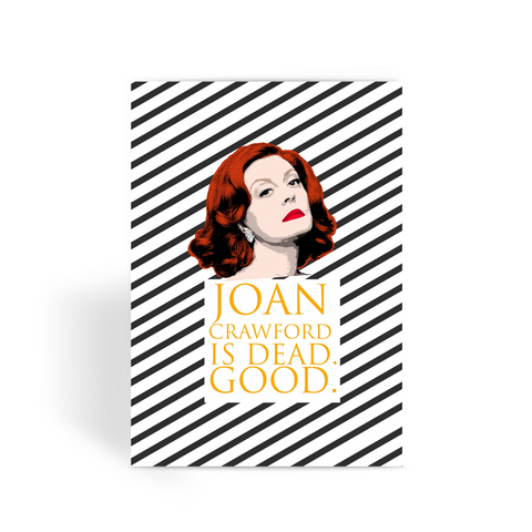 Feud - Bette Single Greeting Card