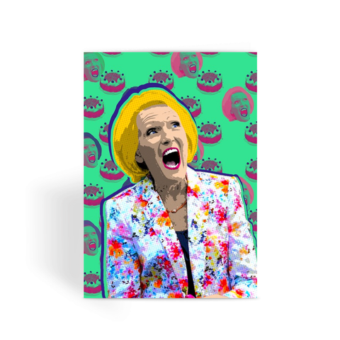 GBBO - Mary Berry Greeting Card
