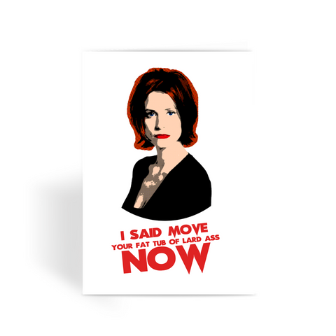 Gale Weathers Scream Greeting Card