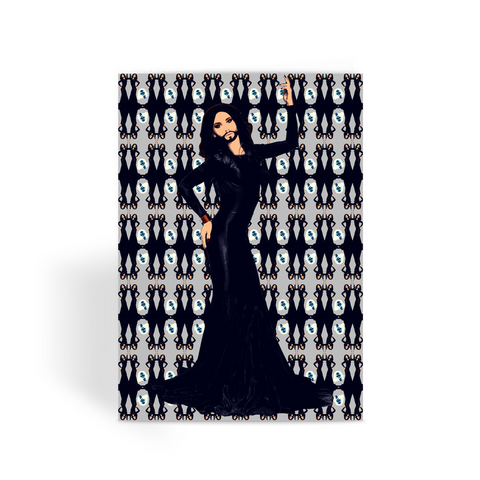 Conchita Fashion Greeting Card