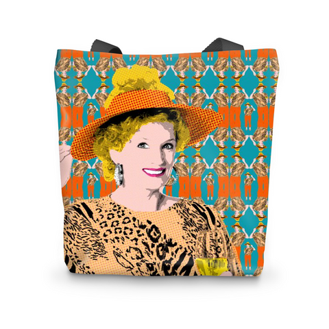 Kath and Kim - Wine Time Tote Bag