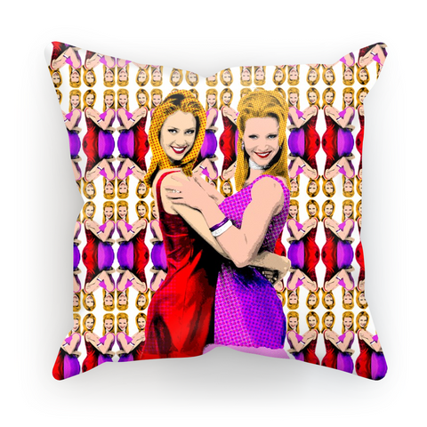 Romy and Michele Cushion Cover