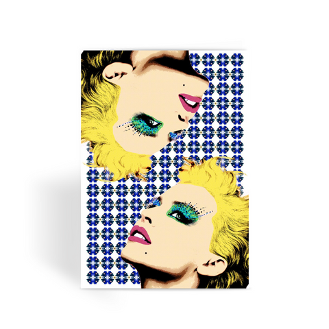 Kylie - Pop Art Greeting Card