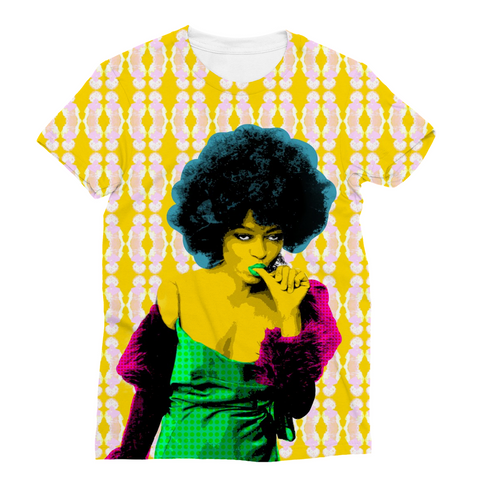 Diana Ross - Electro Diva Unicorn Sublimation T-Shirt