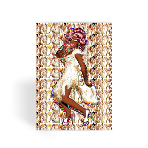 All Stars 3 - Chi Chi Greeting Card
