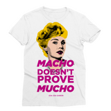 Zsa Zsa Gabor - Macho Sublimation T-Shirt