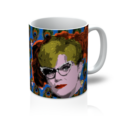 Clue - Mrs Peacock Mug