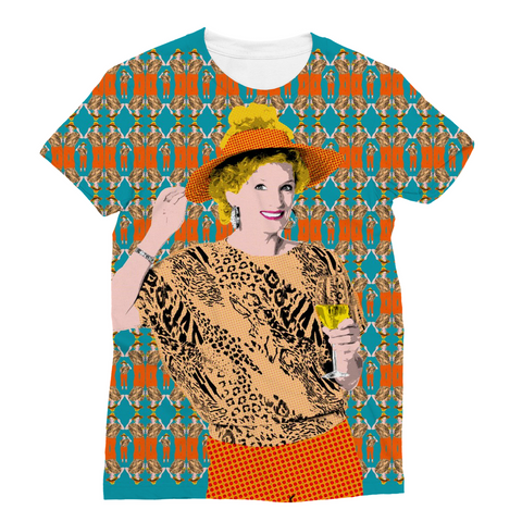 Kath and Kim - Wine Time Sublimation T-Shirt