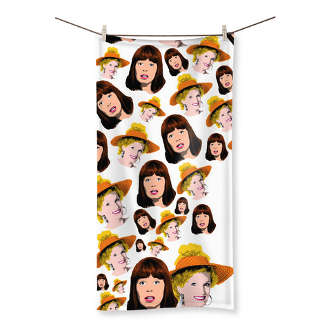 Kath and Kim - All OVAH Beach Towel