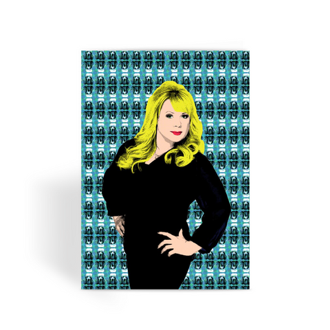 Eastenders Sharon Greeting Card