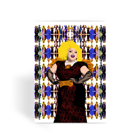 Drag Race All Stars - Ginger Minj Greeting Card