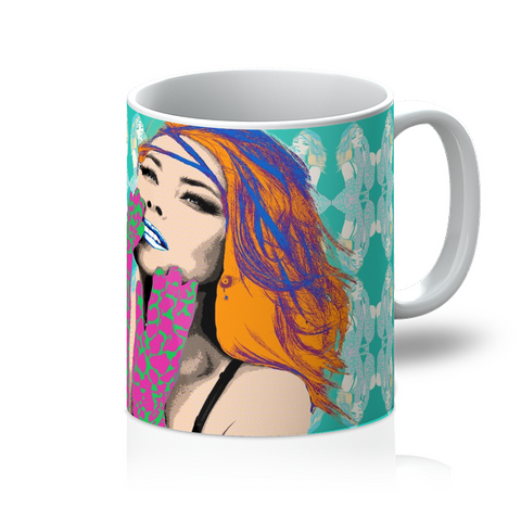 Shania Twain - Pop Art Mug