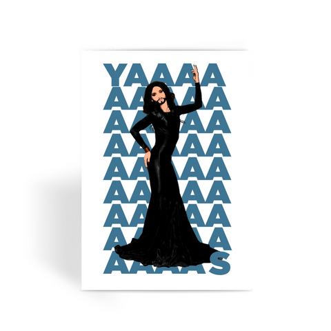 Conchita YAS Greeting Card