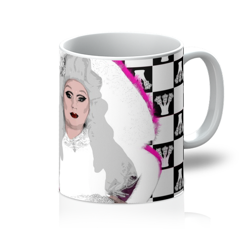 Mad Drag - White Queen Mug