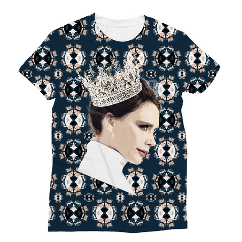 Victoria Beckham Queen Fashion Tee