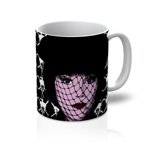 Clue - Mrs White Black Mug