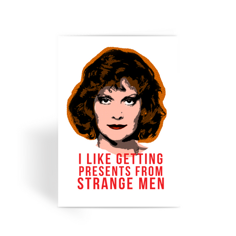 Clue - Miss Scarlet Greeting Card