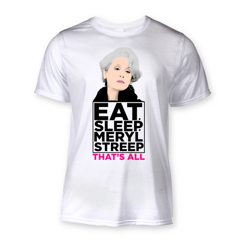 Eat Sleep Meryl Streep Sublimation T-Shirt
