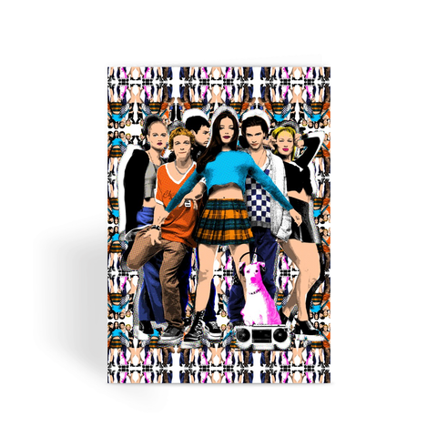 90s Empire Records - Damn the Man Greeting Card