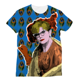 Clue - Mrs Peacock Sublimation T-Shirt