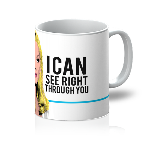 Death Becomes Her - See Through You Mug