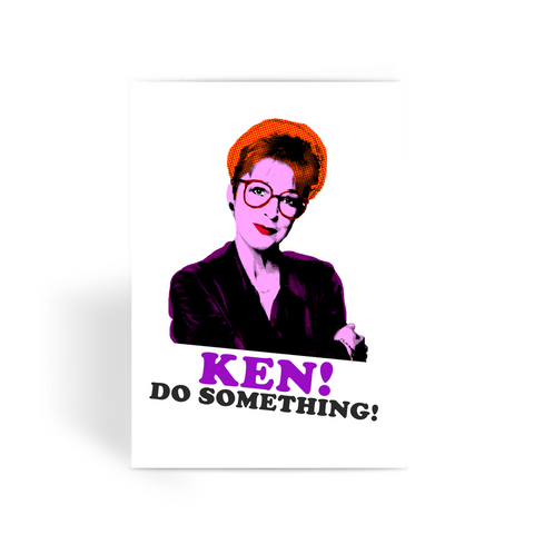 Deirdre Barlow Greeting Card