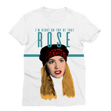 Right on Top of that Rose Fashion Tee