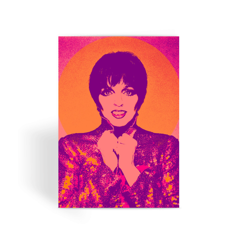 Liza Minnelli Greeting Card
