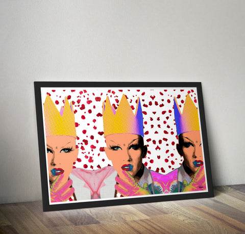 Sasha Velour - Drag Race Art Print