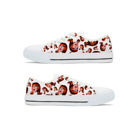 Coco Signature (White) - Miss Coco Peru X Binge (Limited Edition) Sneakers