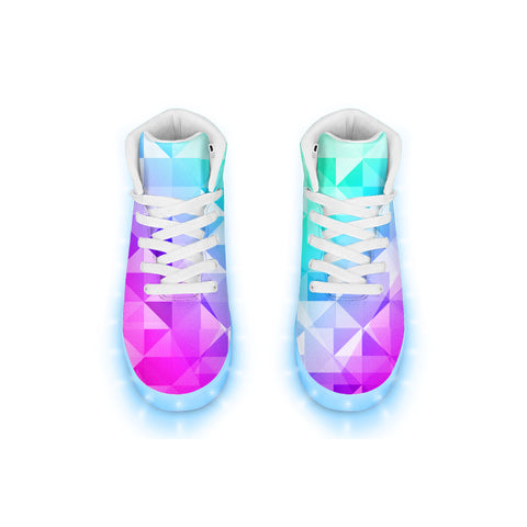Electric Geo LED Hightops