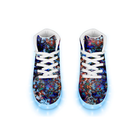 Orchid LED Hightops
